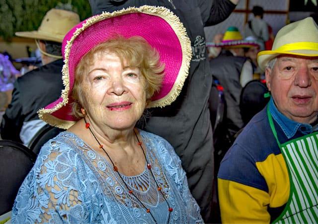 פורים 2018: מסיבת תחפושות של קשישים משכונת עזרא ומשכונת התקווה. צילום: מיטל אזולאי - 9