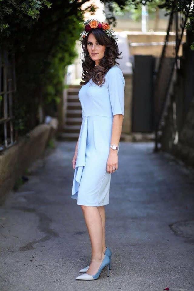 שמלה צנועה של הדסה קסוס, שמלה של אלה בוטיק. צילום: יח״צ