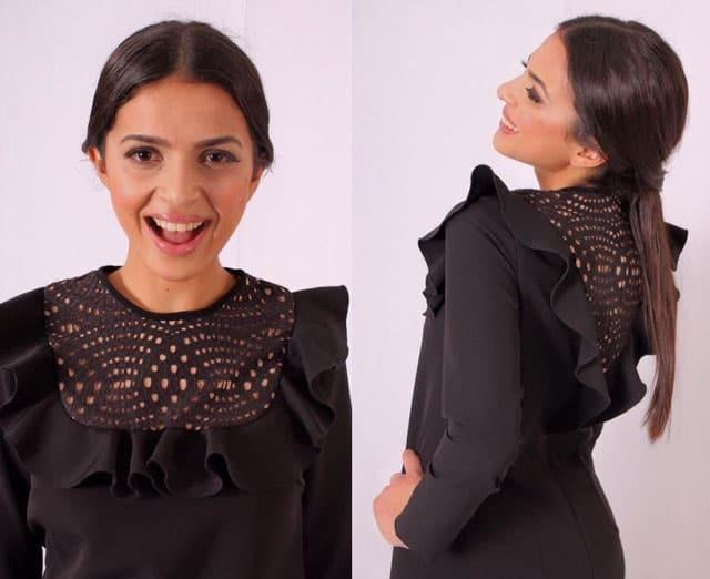 שמלה צנועה של הדסה קסוס, שמלה של אלה בוטיק. צילום: יח״צ - 1