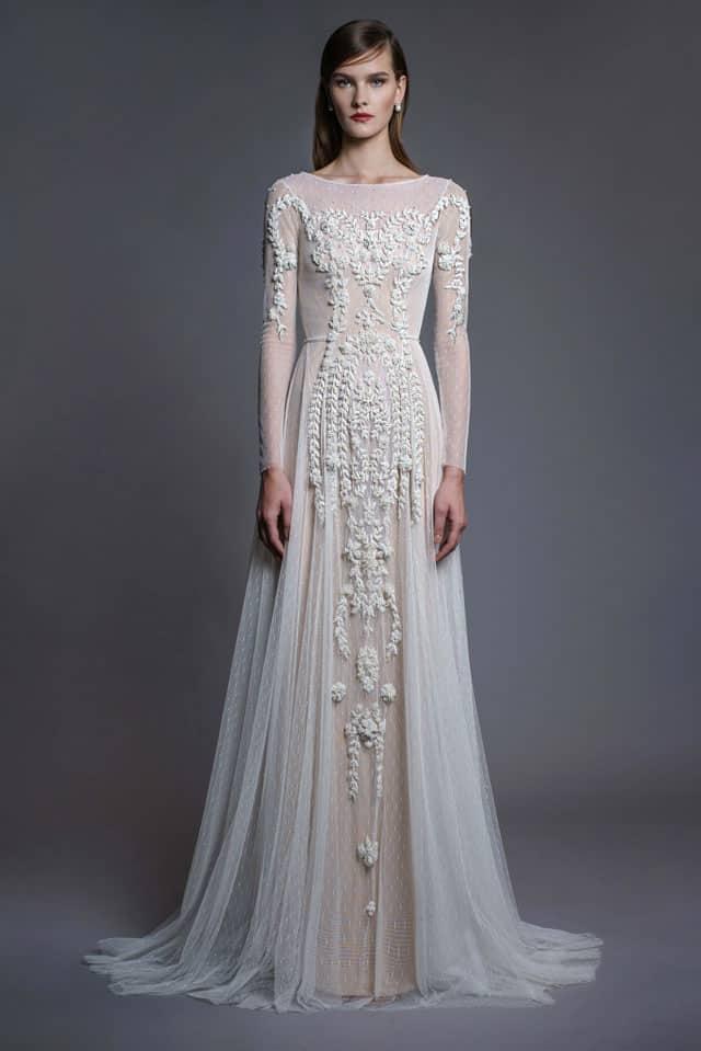 שמלה צנועה של חנה מרילוס. צילום: רון קדמי