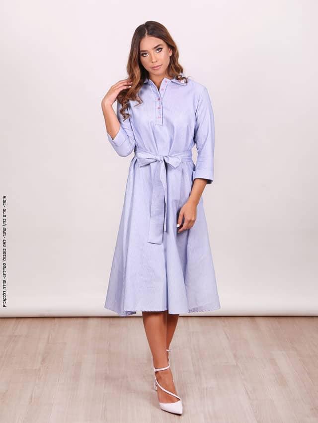 שמלה צנועה של חני פולק. צילום: חני פולק