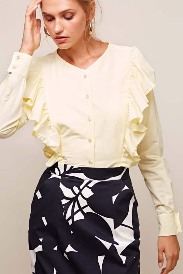 שמלה צנועה של לידוסה. צילום: יח״צ