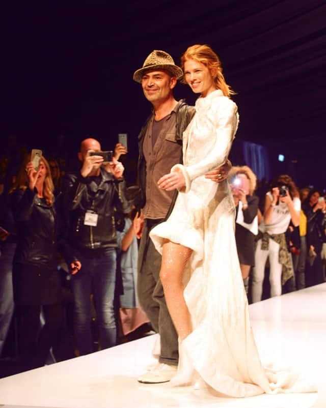 תצוגת האופנה של ויוי בלאיש בשבוע האופנה תל אביב, vivi bellaish, צילום: עומר רביבי -1