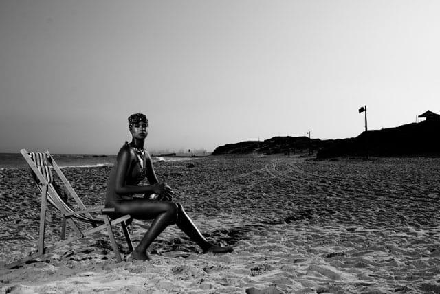 בתמונה: בגד ים: Goa Magic, מטפחת ראש: pull & bear, שרשרת : אוסף אישי