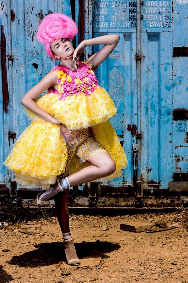 עיצוב אופנה: דניאל נאווי -Shenkar | שנקר, איפור: דידי פז, עיצוב שיער: שרון פור, צילום: גלעד קבלרו, סטיילינג: אלינה פייס, הפקה: אפי אליסי -Efifo, דוגמנית:Olya ל-MC2 Model Management -6