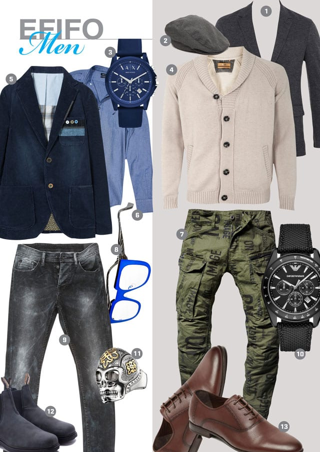 EFIFO. מגזין אופנה. MEN'S SHOPPING#12#16-9