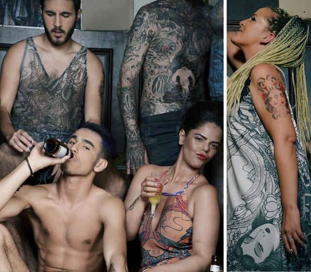 Photography: zilumehad BY Moshe.A, Fashion Designer: Nativ Yochai Maor - NATIV TATTOO, Production & concept: Effie Elisie - EFIFO, Video and Digital Editing: Koby Ben Shushan - 11