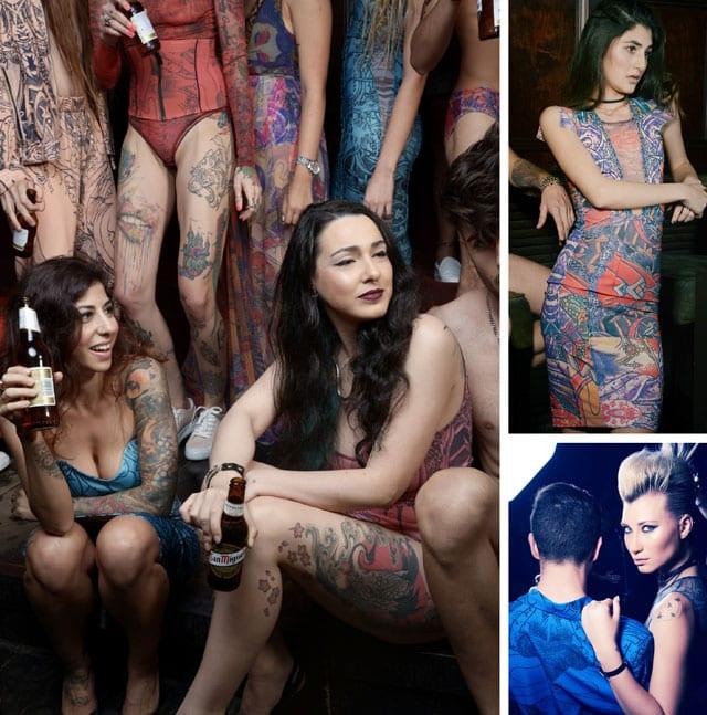 Photography: zilumehad BY Moshe.A, Fashion Designer: Nativ Yochai Maor - NATIV TATTOO, Production & concept: Effie Elisie - EFIFO, Video and Digital Editing: Koby Ben Shushan - 14