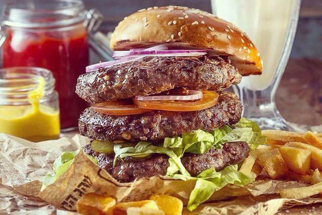 מסעדת המבורגרים הגראז-2