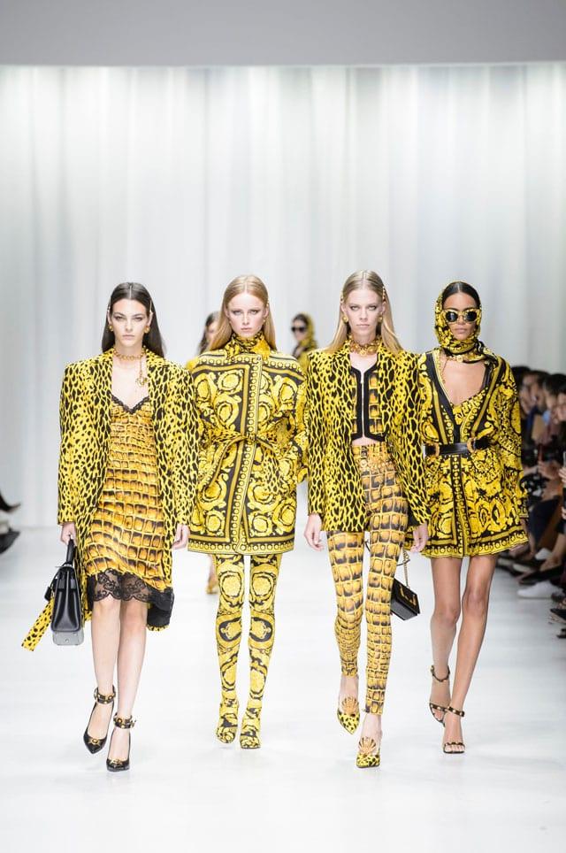בתמונה: תצוגת Versace. אביב 2018. צילום יח״צ חו״ל-15