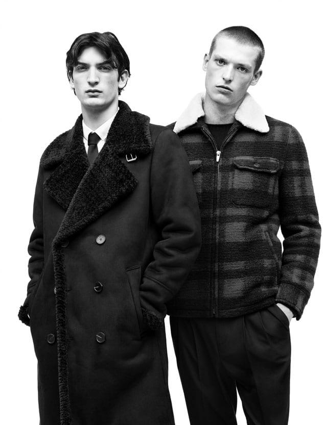 רשת האופנה הספרדית ZARA מציגה קולקציית גברים לחורף 2016/7 -2