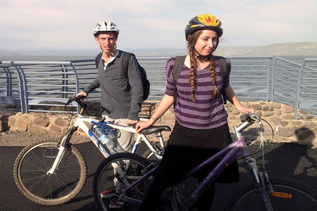 טיול אופניים בשביל סובב כינרת-2
