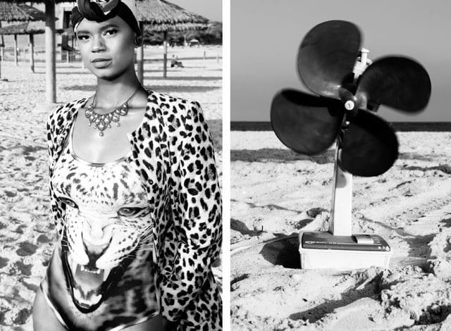 בתמונה: בגד ים: JKKUCOCO, ז'קט: Zara, מטפחת: tag women, שרשרת: אוסף פרטי