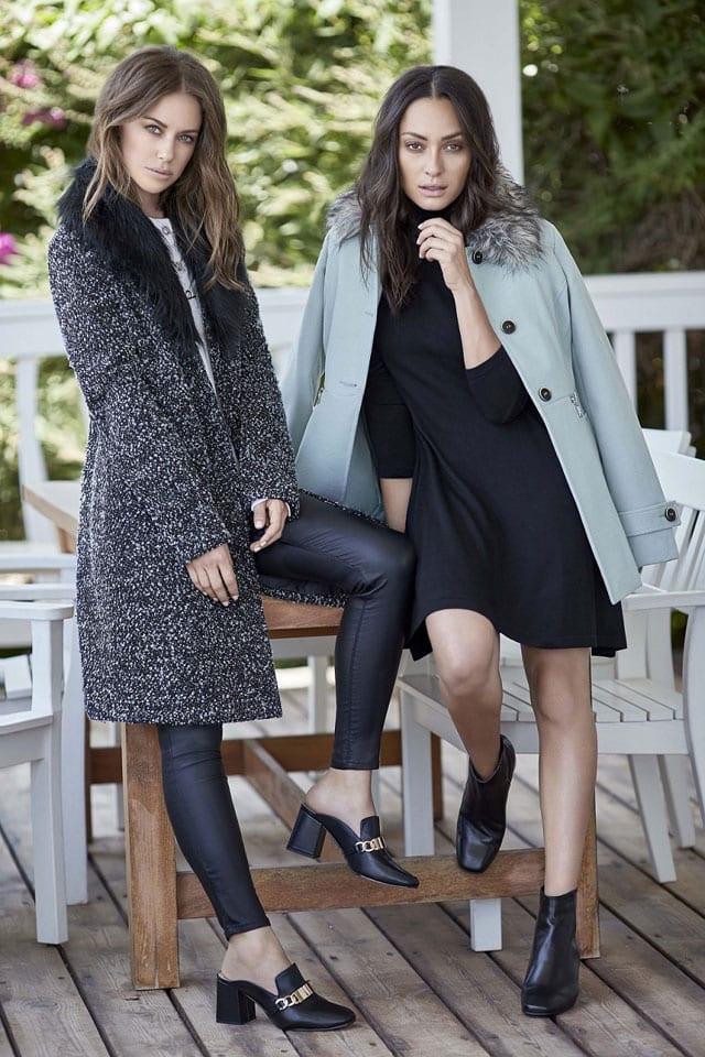 בצילום: שנה טובה לאנה ארונוב ולדנה גרוצקי שמוכנות לחורף של ג׳אמפ. צילום: דודי חסון