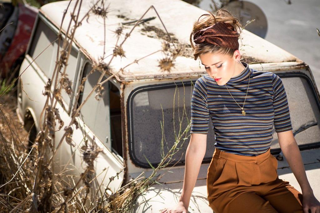 אופנה - רכבת ישראל. הפקה וצילום: ענת אורן. efifo, אופנה, מגזין אופנה - 1