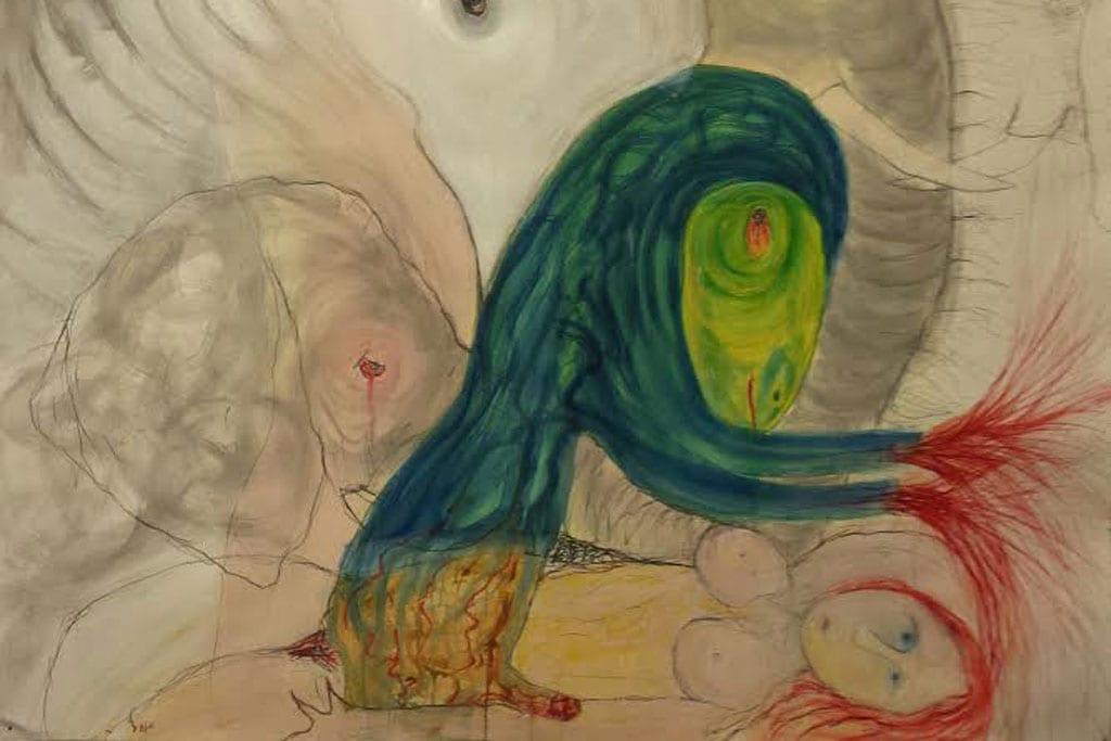 תערוכת יחיד לאסף רהט בגלריה שלוש-4