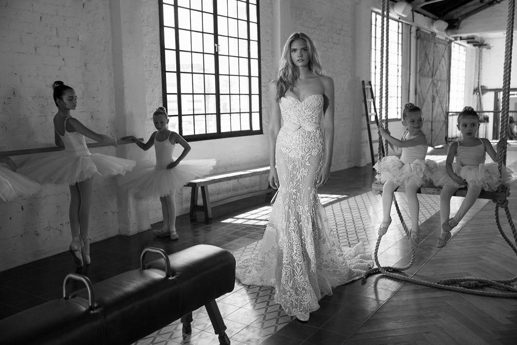 לי גרבנאו הציגה בשבוע האופנה לכלות בניו יורק את קולקציית 2017-1
