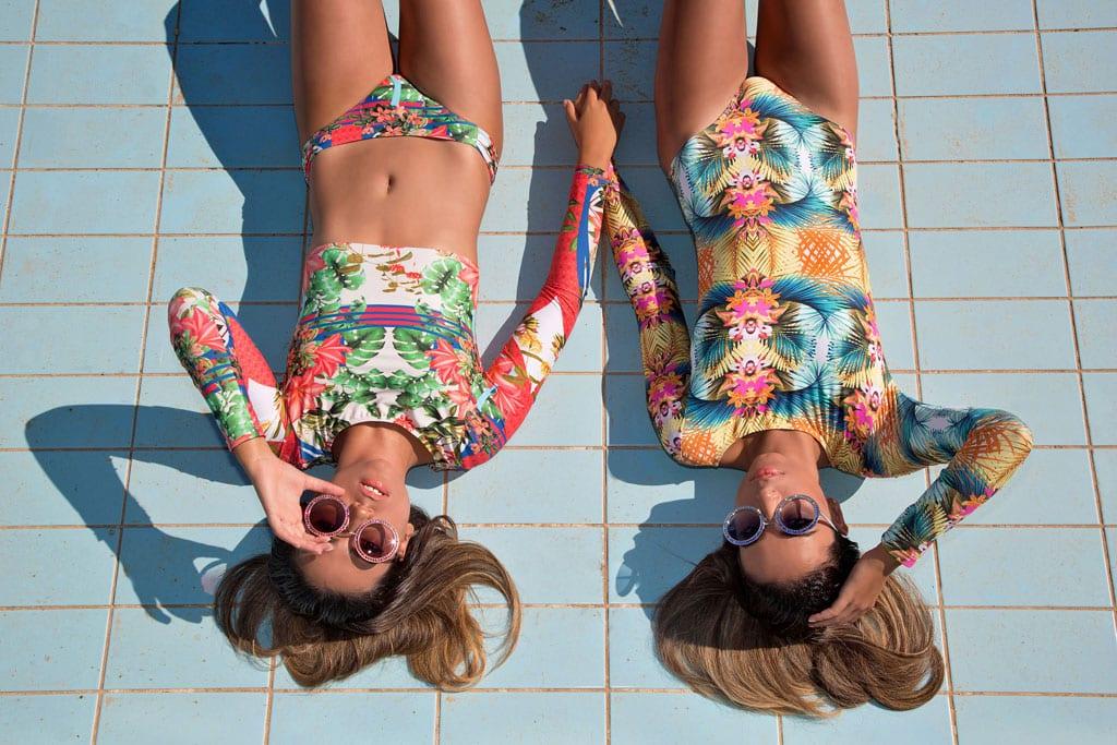 בתמונה: משקפיים: דולצה אנד גבאנה ל-i optic קניון רמת אביב, בגדי ים: MOBO