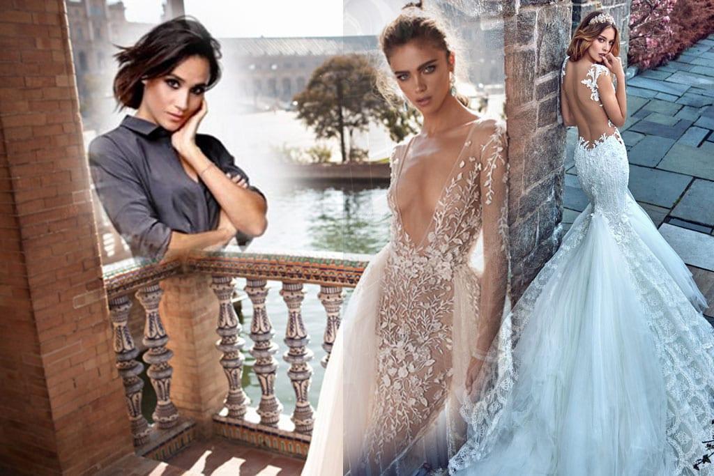 בצילום: שמלת כלה של גליה להב, שמלת כלה של ברטה, מייגן מרקל, אופנה, מגזין אופנה, Fashion, Fashion Magazine, Efifo