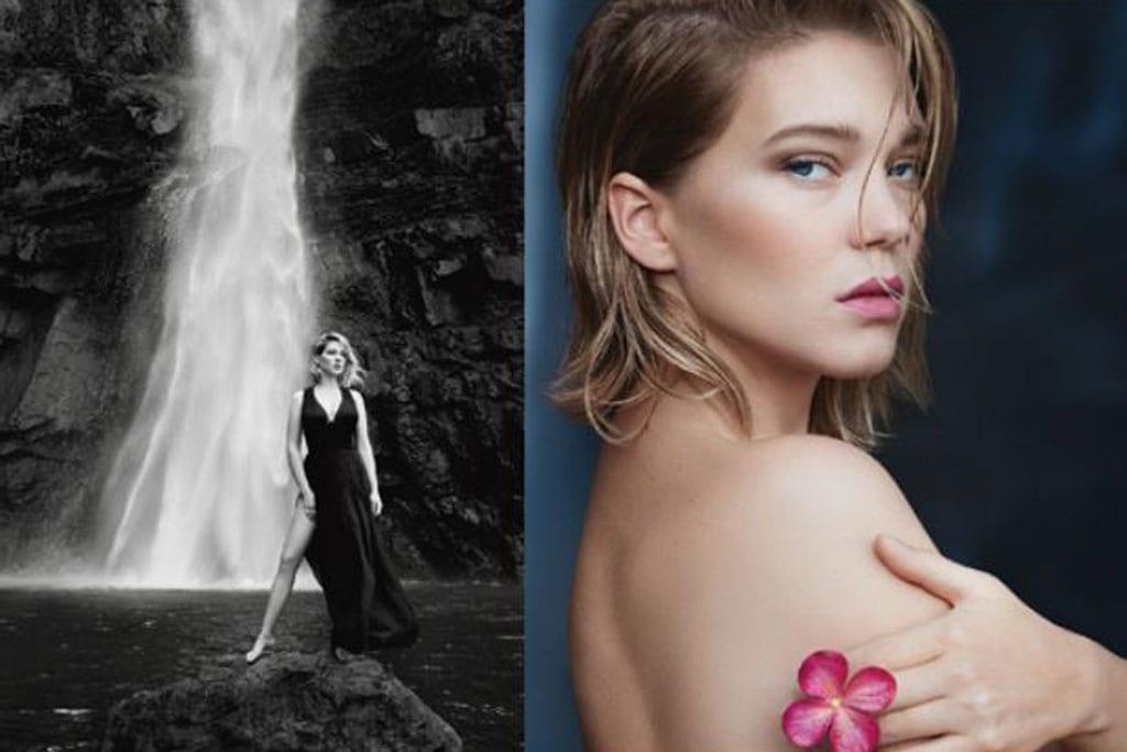 מגזין אופנה, ליה סיידו נבחרה להוביל את קמפיין ההשקה לסדרת הבשמים החדשה של בית האופנה לואי ויטון-3