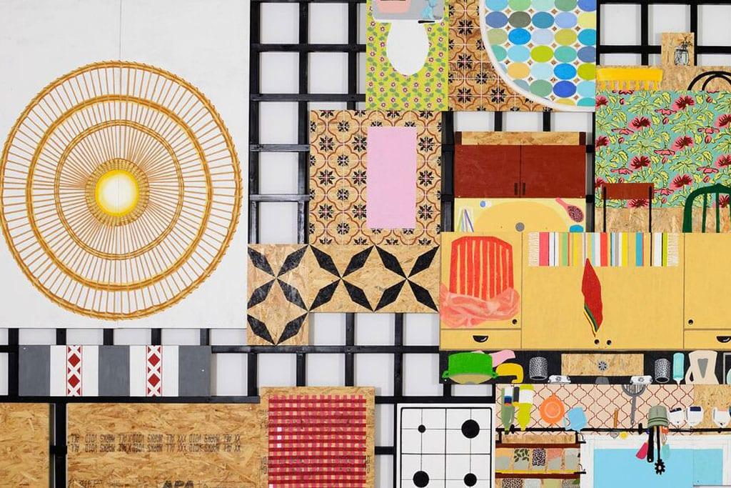 מגזין אמנות, מגזין אופנה, תערוכה זוגית לבר פרום וענת רוזנסון בן חור בגלריה זימאק לאמנות עכשווית: ״תלוי מקום״-3