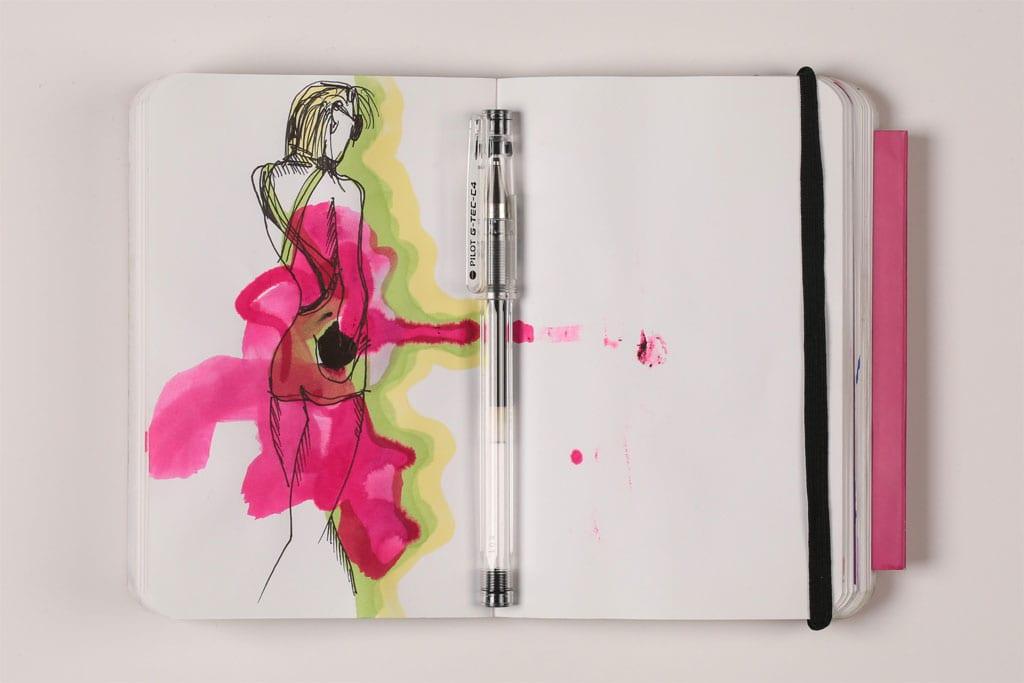 EFIFO מגזין אופנה. תערוכת איורי אופנה של מימי זיו בשנקר-420