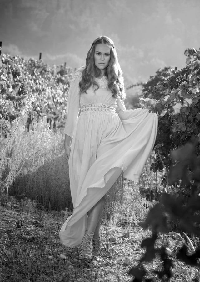 שמלה: מונה ליזה, תכשיטים: שרון סטאר