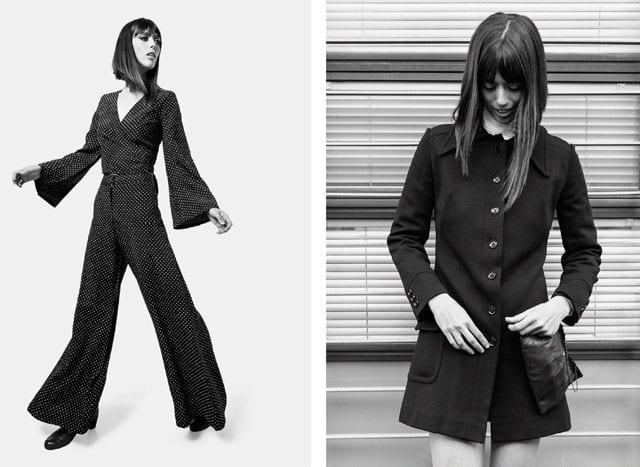 הפקת אופנה, טרנד, רטרו, וינטג׳. דידי פז, ג'יין בירקין, וארון הבגדים של נירה פז-1