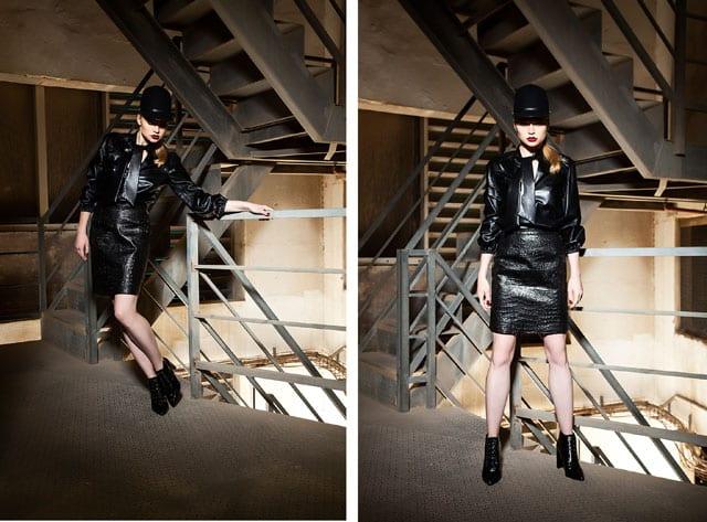 ״סרט שחור או האישה שלא היתה״. אופנה בסגנון פילם נואר-4