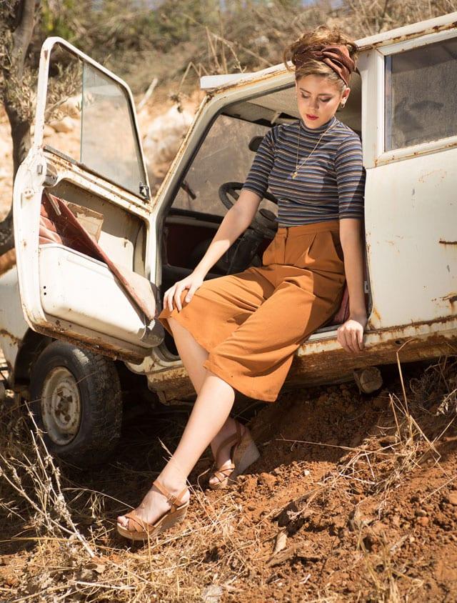 אופנה - רכבת ישראל. הפקה וצילום: ענת אורן. efifo, אופנה, מגזין אופנה - 13