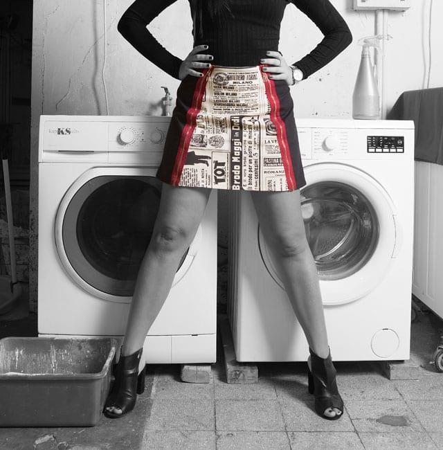אופנה - ״שיק אורבני במכבסה קיבוצית״:הפקת אופנה של גואפו GUAPO - בית ספר למקצועות האופנה - 1