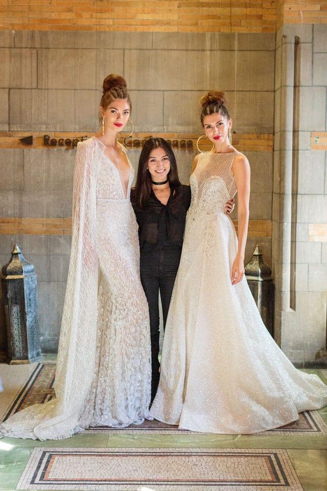 ברטה הציגה בשבוע האופנה לכלות בניו יורק את קולקציית 2017-69