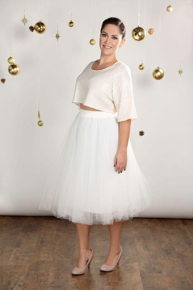 EFIFO. מגזין אופנה. טליה, שמלות במידות גדולות בסטייל נוצץ לסילבסטר-5