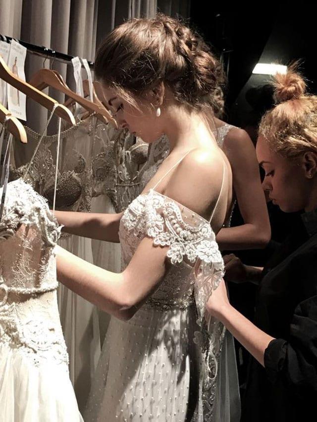 אלון ליבנה ניו יורק שבוע האופנה כלות 2017-12