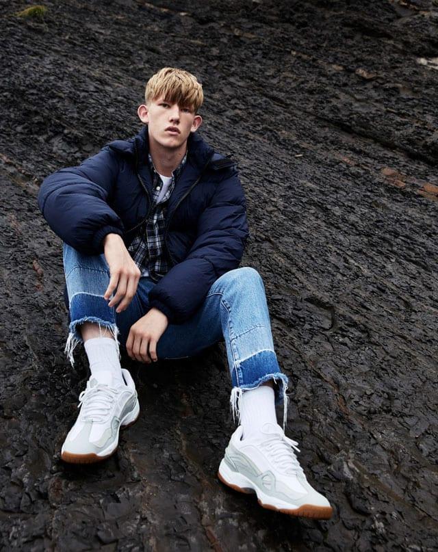 אפיפו מגזין אופנה. ברשקה גברים. ג'ינס: 199 במקום 249 שקל. צילום יחצ חו״ל