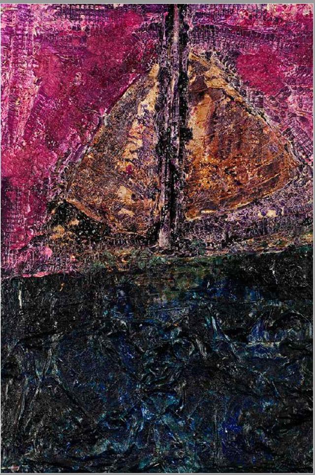 בתמונה: ציור של האמנית לאה צבעוני. צילום: יח״צ -6