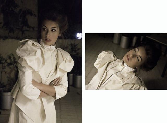שנקר ,EFIFO ,The Diaghilev, עיצוב אופנה, אופנה, טרנד, סטייל, אפרת קוצ׳יק, מארי אנטואנט, קוקו שאנל, אודרי הפבורן, שמלות תקופתיות, שמלות מימי הביניים, שמלות הוט קוטור שמלת הוט קוטור, צילום אופנה,