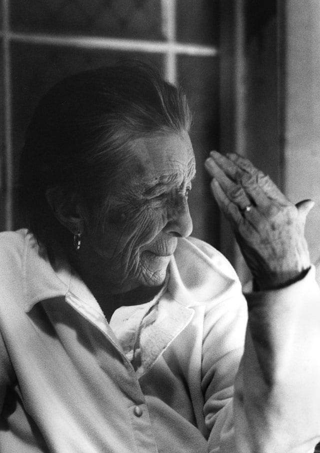לואיז בורז'ואה בשנת 2003. צילום: ©ננדה לאנפרנקו-1