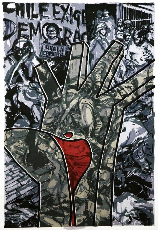 EFIFO. מגזין אמנות. גרשון קניספל. כשהתותחים רועמים-5