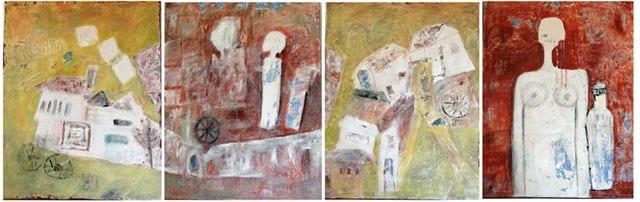 יום ביומו תערוכה של פלורה רובנר