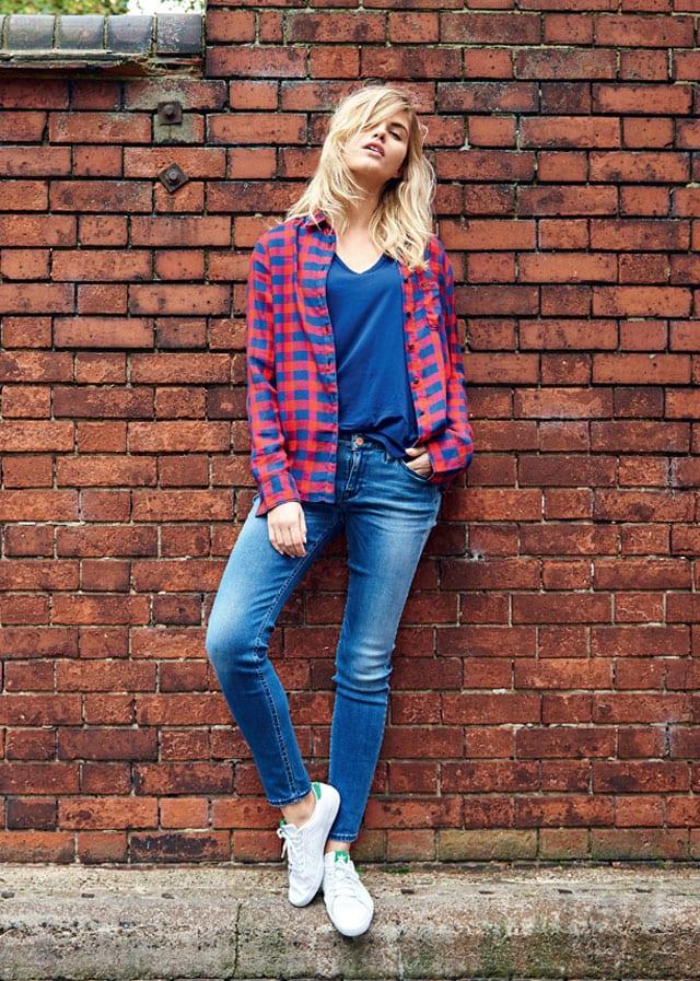 מגזין אופנה. קולקציית החורף של מותג הדנים Lee לנשים וגברים, סתיו חורף 2016-17-9