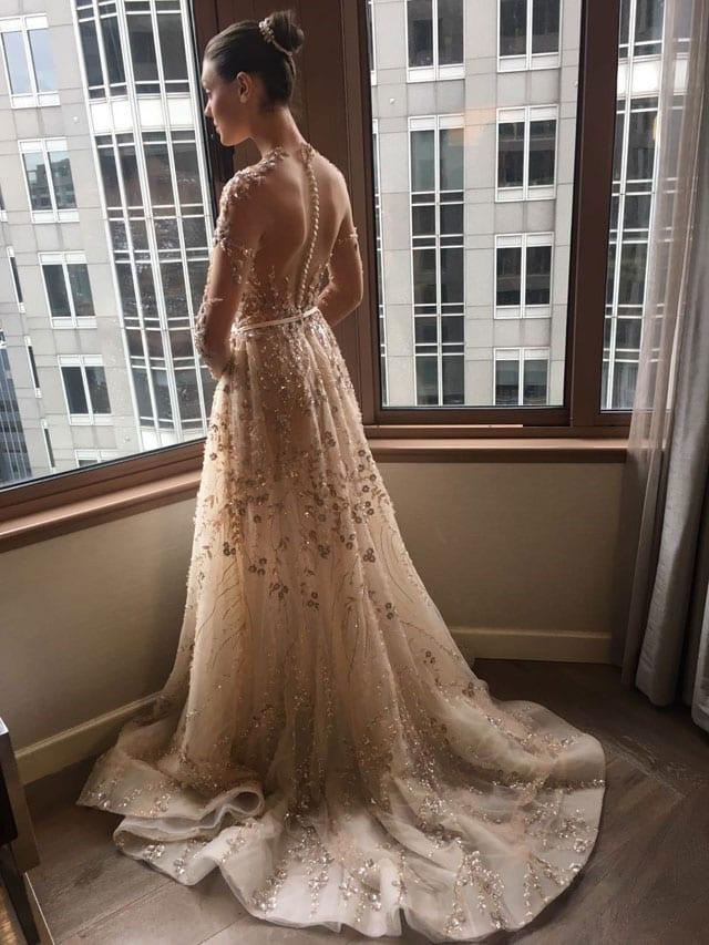 לי גרבנאו הציגה בשבוע האופנה לכלות בניו יורק את קולקציית 2017-4