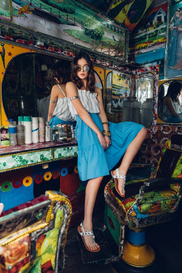 טוונטיפורסבן - טופ, חצאית - טרנדים - סטייל - אופנת נשים - Fashion - אופנה ישראלית