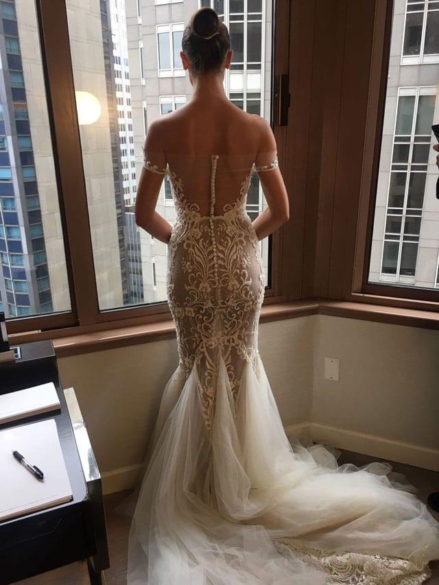 לי גרבנאו הציגה בשבוע האופנה לכלות בניו יורק את קולקציית 2017-3