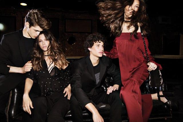 שמלה לנשף פרום, נשף פרום, שמלה אדומה לנשף פרום, שמלה שחורה לנשף פרום, חליפה לנשף. נשף פרום של עמנואל. שמלה אדומה: 3,500 שקל. חולצת כוכבים: 1,790 שקל. צילום שי יחזקאל, אתר אופנה, prom, efifo, fashion, אופנה - 1