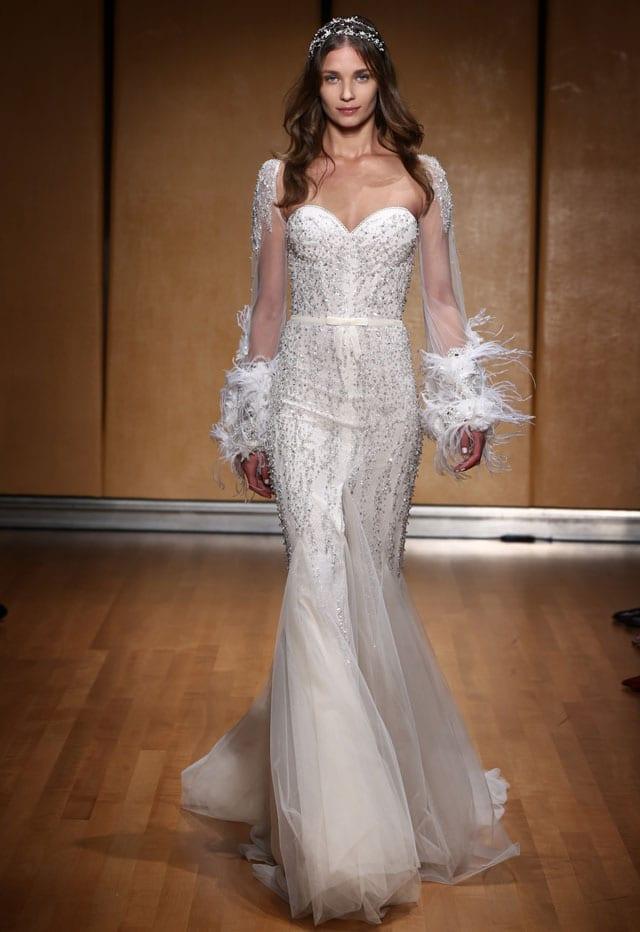 בתמונה: Inbal Dror Bride Dress. שמלת כלה של ענבל דרור. צילום: אייל נבו - 5