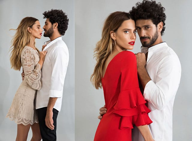 רותם סלע ואביב אלוש. קמפיין החגים של קסטרו 2017. צילום: שי יחזקאל -  Trends, Fashion, Style, zara, זארה, סטייל, מגזין אופנה, כתבות אופנה, טרנדים, אופנה, אופנת גברים, אופנת נשים