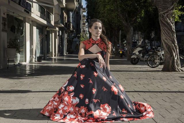 בתמונה: שמלת ערב, שמלות ערב. צילום: ג'ון מק'ריי (JOHN MCRAE)-5