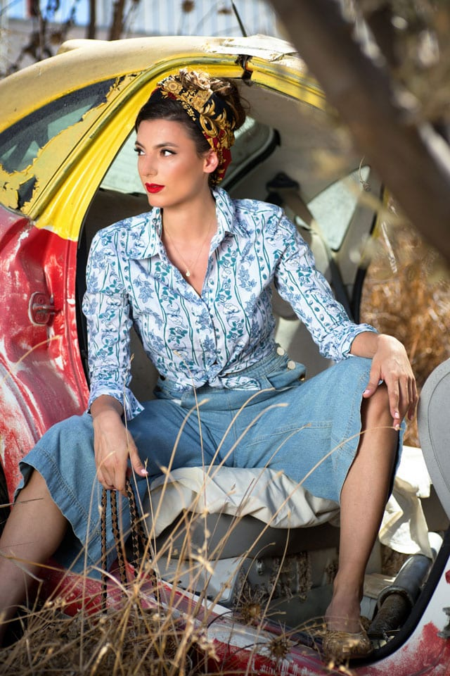 אופנה - רכבת ישראל. הפקה וצילום: ענת אורן. efifo, אופנה, מגזין אופנה - 11