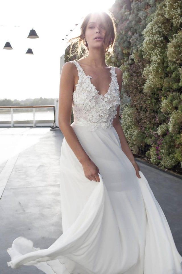 שמלת כלה של אליה וטין. יריד כלות חכמות. EFIFO אתר אופנה, צילום: מאמא צלמים